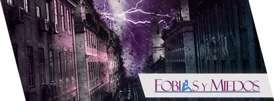 Miedo y fobia a la lluvia