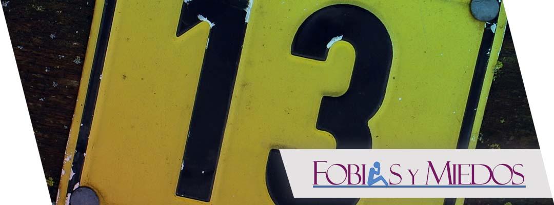 Miedo al número 13